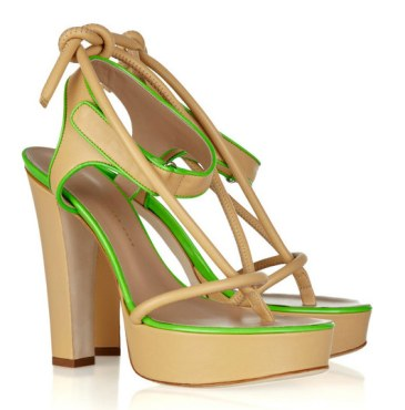 Christopher-Kane-Platform-Leather-Sandals