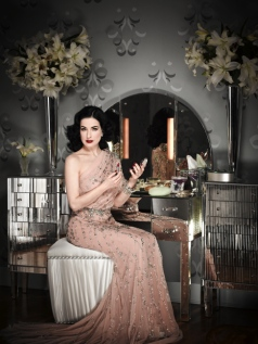 Dita Von Teese by Douglas Friedman for InStyle, February 2011 3