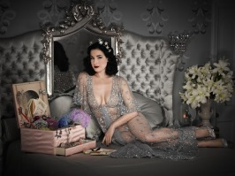 Dita Von Teese by Douglas Friedman for InStyle, February 2011 4